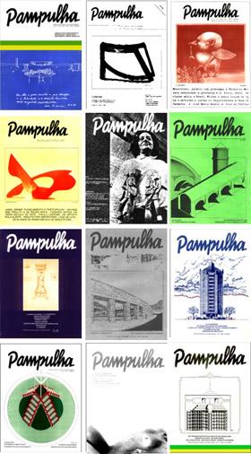 capas das revistas pampulhas
